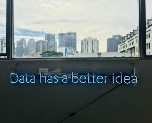 dados têm uma ideia melhor
