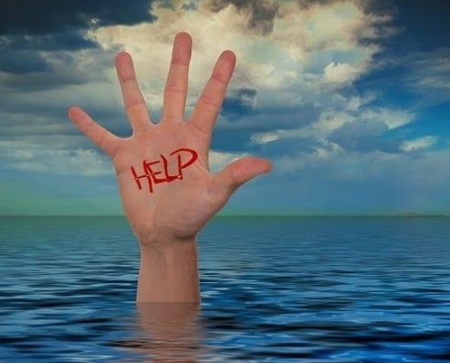 pedir ajuda